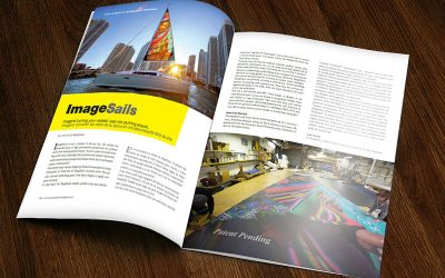 ImageSails featured in Yachting Times Magazine​!