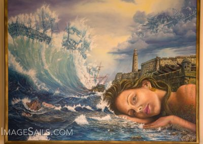 ImageSails artist Roniel Llerena Andrade