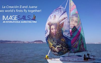 The Art of Sailing: ImageSails' world's firsts fly together!